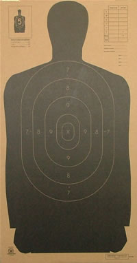 B 27 Law Enforcement NRA Target