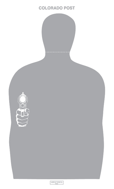 Colorado Peace Officer Standards and Training Target