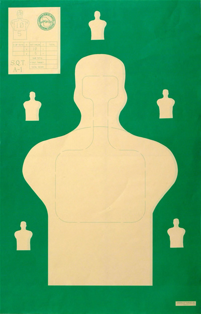 Georgia Law Enforcement Training Target