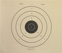 Police L Match Law Enforcement Pistol Target